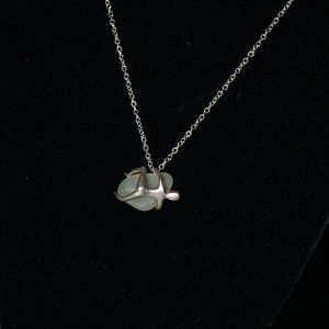 """Rock Climber on Sea Glass 18"""" necklace"""